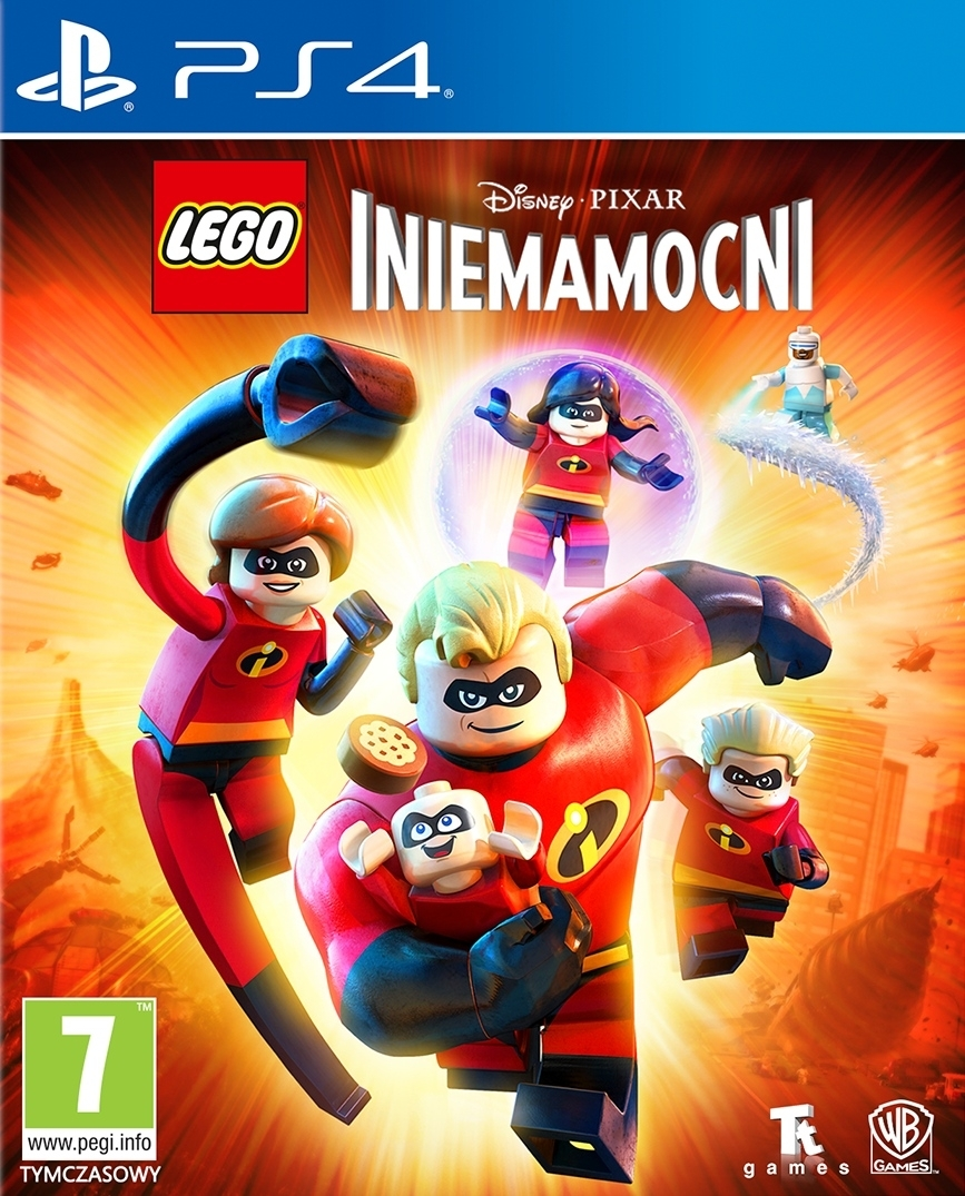 LEGO Incredibles / LEGO Iniemamocni PL (PS4)